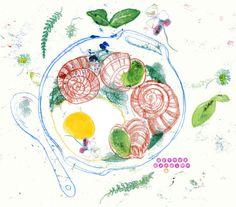 Das große Nachholen mit drei Themen der letzten Tage: Spiegelei Weinbergschnecke und Kochtopf - Guten Appetit! #illustration #foodillustration #illustratedfood #drawingchallenge #theydrawandcook #spiegelei #weinbergschnecke #wildkräuter #essbareblüten #topf #the100dayproject @elleluna #mats100days #365doodlesmitjohanna @byjohannafritz #berlinillustration #instaart #wallart #illustagram #instadraw #instadoodle #instadrawing #handdrawn #editorialillustration #editorialart #illustrationartist…