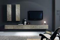 Salas de Estar con Muebles de Piedra - Para Más Información Ingresa en: http://fotosdesalas.com/salas-de-estar-con-muebles-de-piedra/