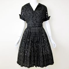 Fab.com   1960s Eyelet Circle Dress 6/8 by Suzy Perette (vintage, sold)
