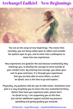 Archangel Zadkiel guidance message through Angel Messenger Jill Harrison Archangel Zadkiel, Archangel Raphael, New Age, Archangel Prayers, Angel Guide, Angel Quotes, I Believe In Angels, Angel Cards, Angel Numbers