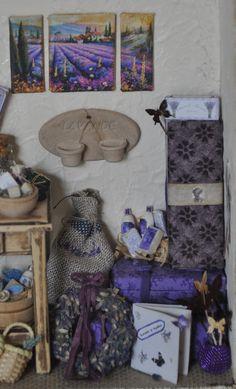Miniature lavender shop
