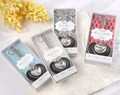 heart measuring spoons bridal shower favors, as low as $32.23 for 12