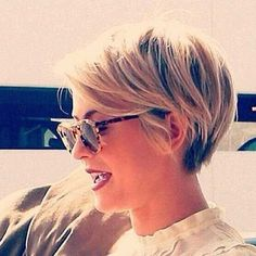 Cute Super Short Hairstyle
