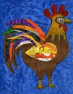 Rockin Rooster - i am sure i can find a geoargia artist for this one - 1st (in conjunction with eric carle collages) or 2nd grade (in place of aboriginal)
