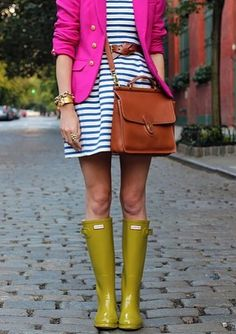 Magenta and Chartreuse and Stripes, Oh My!