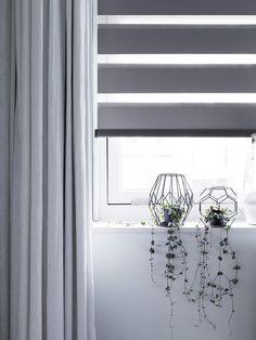 Duo rolgordijn #privacy #verduisterend #bece #raamdecoratie http://www.woninginrichtingdoetinchem.nl