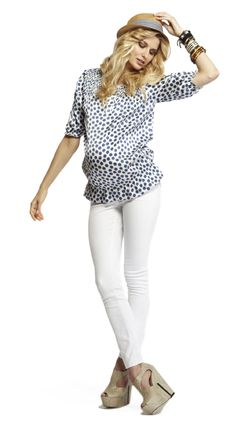 New Spring/Summer Arrivals! Lily Top on http://moreofmematernity.com