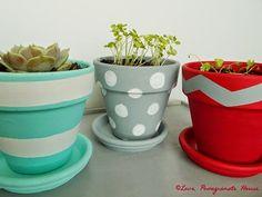 Succulent painting diy flower pots Ideas for 2019 Painted Clay Pots, Painted Flower Pots, Hand Painted, Terracotta Flower Pots, Succulent Gifts, Clay Pot Crafts, Herb Pots, Plant Pots, Container Plants