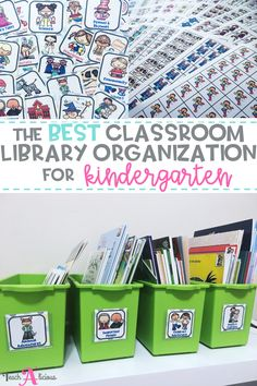 These labels for book bins and books is just what you need for your classroom library. The visual labels & stickers will make your library easy to set up and maintain. Perfect for kindergarten, first grade, 2nd grade, and bilingual classrooms. All labels available in English & Spanish.