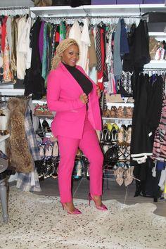 claire sulmers fashion bomb daily home decor fabulous closet pink suit