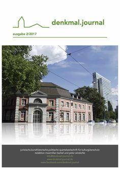 Literatur-Tipp: denkmal.journal – Zeitschrift zum Thema Denkmalschutz
