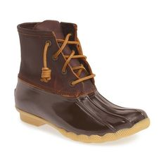 Make waves with confidence in these weather resistant boots that stylishly protect you from the rain and slush. Micro-fleeced lining and a siped, lugged sole …