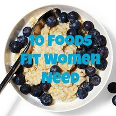 10 Foods Fit Women Need: Your Shopping List