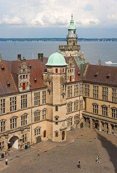 Kronborg Slot, (Castle) Helsingør, Denmark