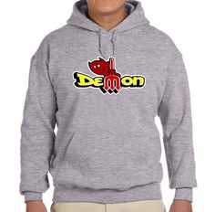 1971 1972 Dodge Demon Logo Classic Color Print Hoodie Sweatshirt