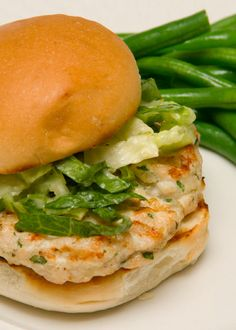 Chicken Caesar Burger