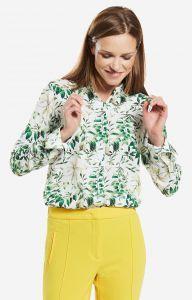 Koszule damskie Lambert Zielona koszula damska LAMBERT
