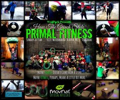 So this awesomeness happened today! Here are some thoughts and facts from today's Grinch-themed Primal Fitness…  *4 days before Christmas we had 47 human souls (40 adults, 7 kiddos) celebrating fitness and community while essentially PLAYING. We dressed up, used our imaginations, and laughed a lot.  *The temperature at class time (9 am) was approximately 20 degrees Fahrenheit. Within minutes of moving, nobody seemed to notice.  *Our ages ranged from 5 years told to 60 years old. You all did…