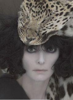 Photography by Paolo Roversi Tilda Swinton as Marchesa Casati