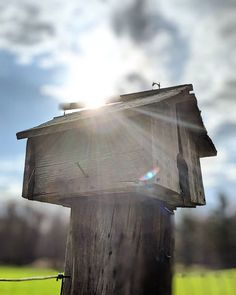 The sun rises on a warm spring day a old home waiting for new guests soon to be occupied. Warm Spring, Spring Day, Old Houses, Bird Feeders, Ontario, Sunrise, Waiting, London, Outdoor Decor