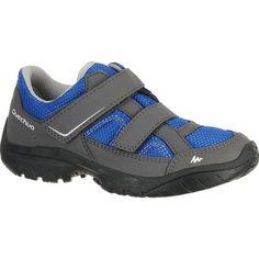Bergsport_WanderschuheKinder Schuhe Kinder - Wanderschuhe Arpenaz 50 mit Klettverschluss Kinder blau QUECHUA - Kinderschuhe nach Art