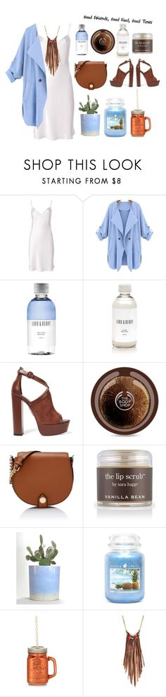 """Good Times."" by emi-the-queen ❤ liked on Polyvore featuring Yves Saint Laurent, Lord & Berry, Aquazzura, Karl Lagerfeld, Sara Happ, New Look and Astali"
