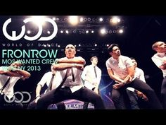 Mos Wanted Crew | World of Dance | FRONTROW | #WODNY 2013 - YouTube