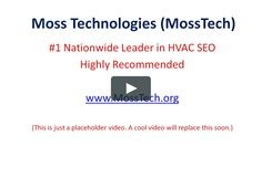 Moss Technologies (MossTech) is the nationwide leader in HVAC SEO for heating and cooling companies https://vimeo.com/212155260?  #HVACSEO #HVACInternetMarketing
