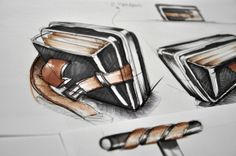 PILOT LUGGAGE - HAND SKETCHES by Marc TRAN, via Behance