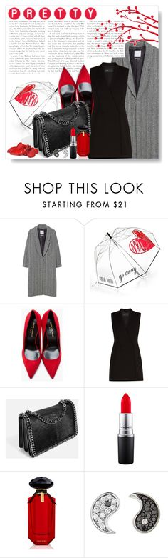 """Untitled #666"" by lo2lo2a ❤ liked on Polyvore featuring MANGO, Felix Rey, Yves Saint Laurent, BCBGMAXAZRIA, Bandolera, MAC Cosmetics, Victoria's Secret and Sydney Evan"