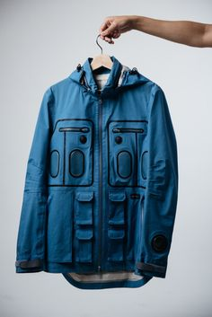 Blue for me and you!!!  A dope jacket for all!!!