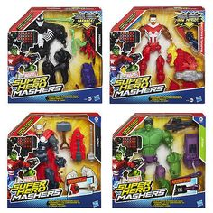 Marvel Super Hero Mashers Upgrade Deluxe Action Figures Hasbro Toys