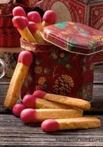 Erdnuss-Streichhölzer