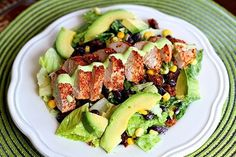 Earl's Santa Fe Salad - this delicious Tex Mex salad is almost exactly the same as the one from Earl's restaurant!