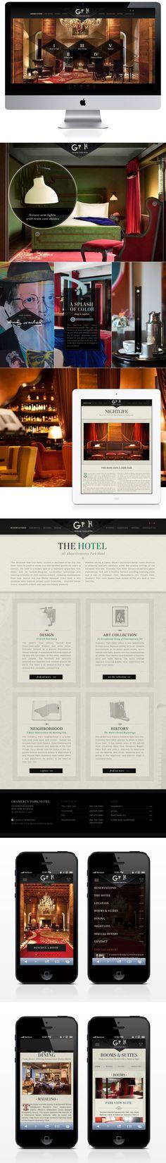 #WebDesign Gramercy Park Hotel