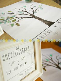 Hochzeitsbaum {free printable}