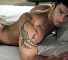 Adam Ayash...look at the hollow of his spine. Rawr!