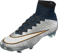 Nike Mercurial Superfly CR7 FG Soccer Cleats - Silverware | SoccerMaster.com