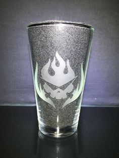 Gurren Lagann, Glass Etching, Pint Glass, Customized Gifts, Just For You, Shapes, Messages, Tableware, Handmade