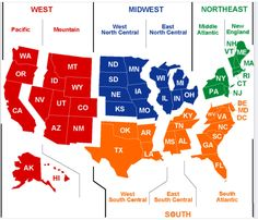 Printable Map of The USA....also color versions and other versions ...