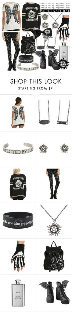 """""""Supernatural"""" by bezaliel ❤ liked on Polyvore featuring Iron Fist"""