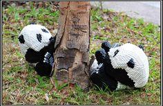 Lego panda cubs
