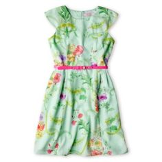 Baker by Ted Baker Belted Floral Dress - Girls Cute Outfits For Kids, Toddler Girl Outfits, Ted Baker Belt, Girls Dresses, Summer Dresses, Floral Pants, Girls Shopping, Girl Fashion, Clothes