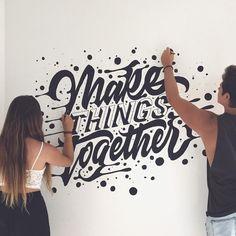 1,016 отметок «Нравится», 10 комментариев — David Milan (@mdemilan) в Instagram: «Make things together w/ @agustinagastaldif »
