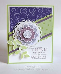 My Joyful Moments Blog- Using Papertrey Ink stamps