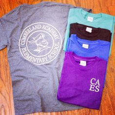 Cumberland Academy Elementary School had us print up some t-shirts for them this…