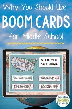 Boom cards are engaging, self-checking, and can be used a ton of different ways. Learn more about all their different uses and how you can bring them into your middle school classroom.