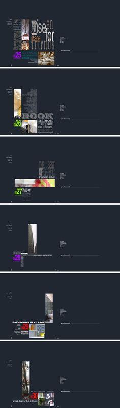 Cover per il sito www.gariselliassociati.it con uscita bimestrale. Anno 4: Mix. Progetto www.gariselliassociati.it