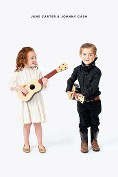 Little Musicians Costumes: June Carter & Johnny Cash   Oh Happy Day!
