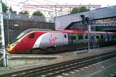 #virgin train wrap